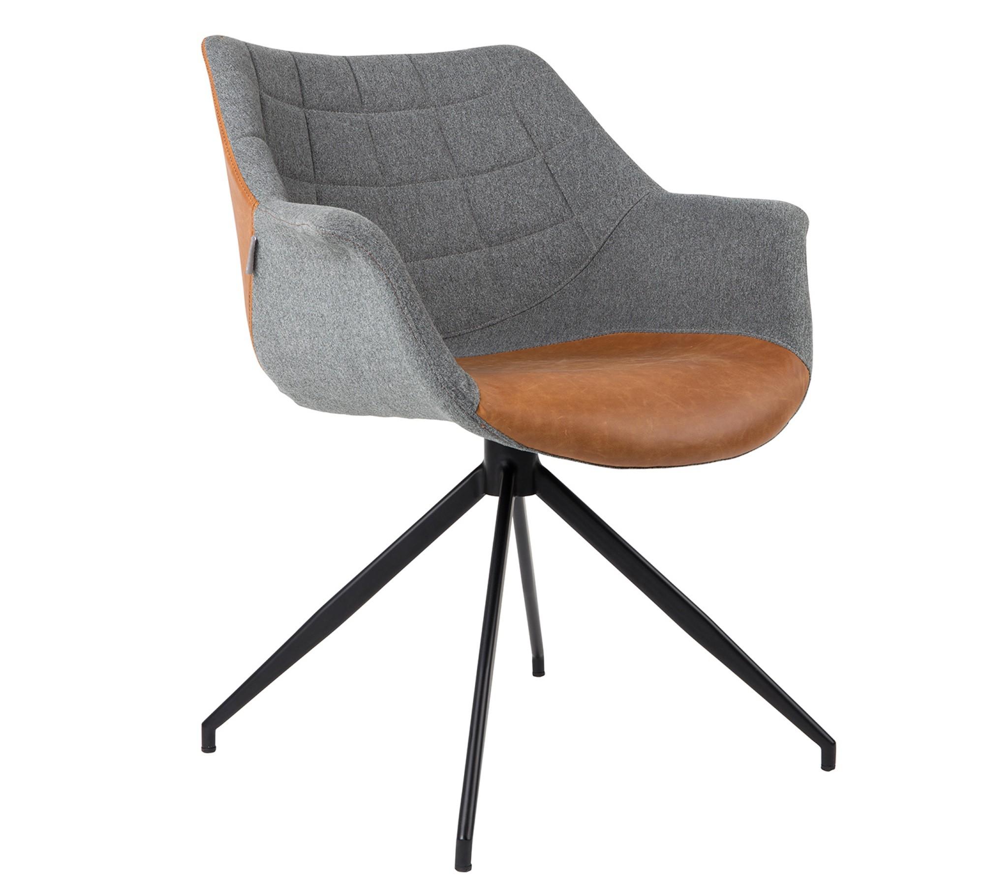 Bemerkenswert Armlehnstuhl Grau Sammlung Von Zuiver Doulton Vintage Braun 001