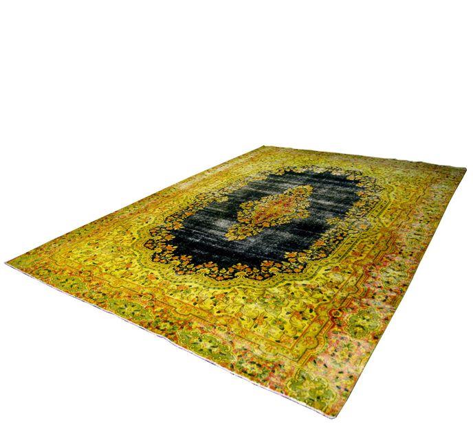 Vintage Carpets 7514 Recolored Teppich 386x270cm handgeknüpft persisch – Bild 1