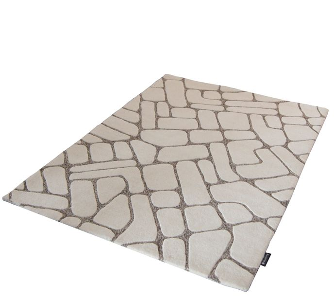 Musterring Teppich Milano 807 in 140x200cm handtuft beige – Bild 2