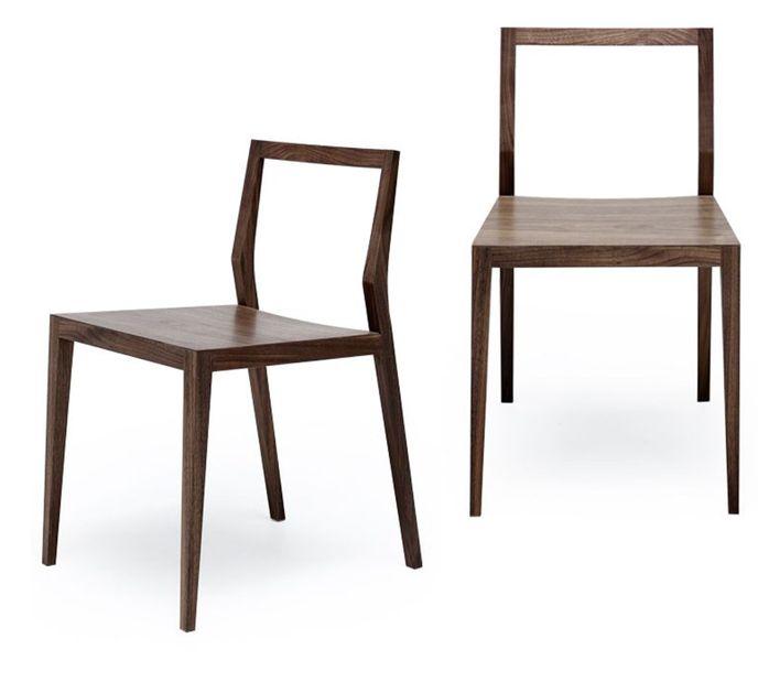 Mint Design Ghost Holzstuhl aus Massivholz viele Varianten