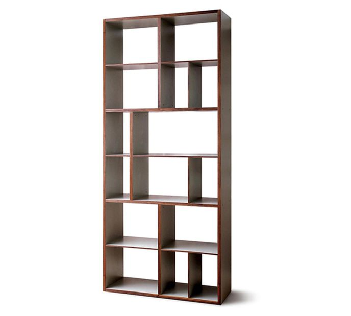 Mint Design Raumteiler Regal  Shelf L  Massivholz mit B111cm H266cm