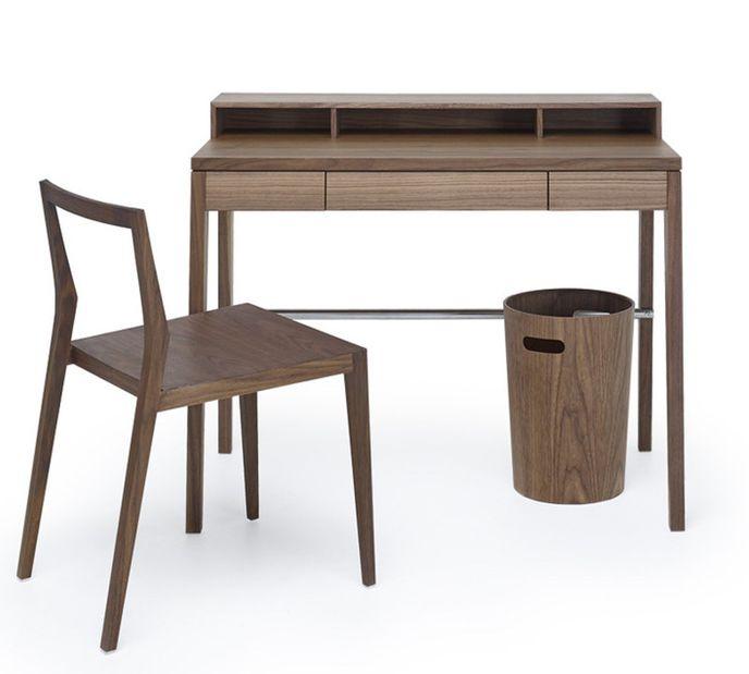 """Mint Design Schreibtisch M2600 """"Compactus"""" Massivholz mit Aufsatz – Bild 3"""