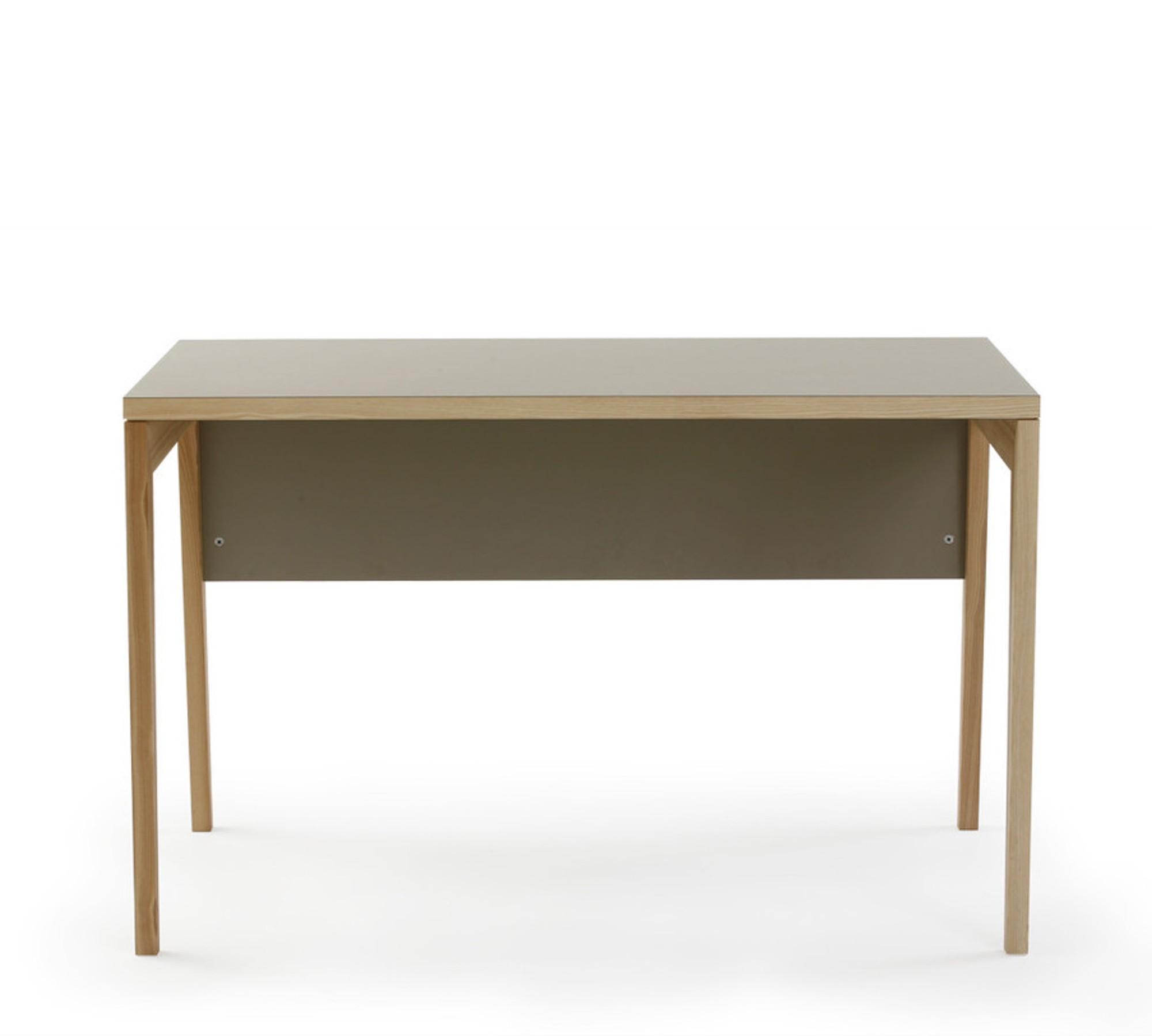 Mint design schreibtisch m2300 aus massivholz mit for Schreibtisch aus echtholz