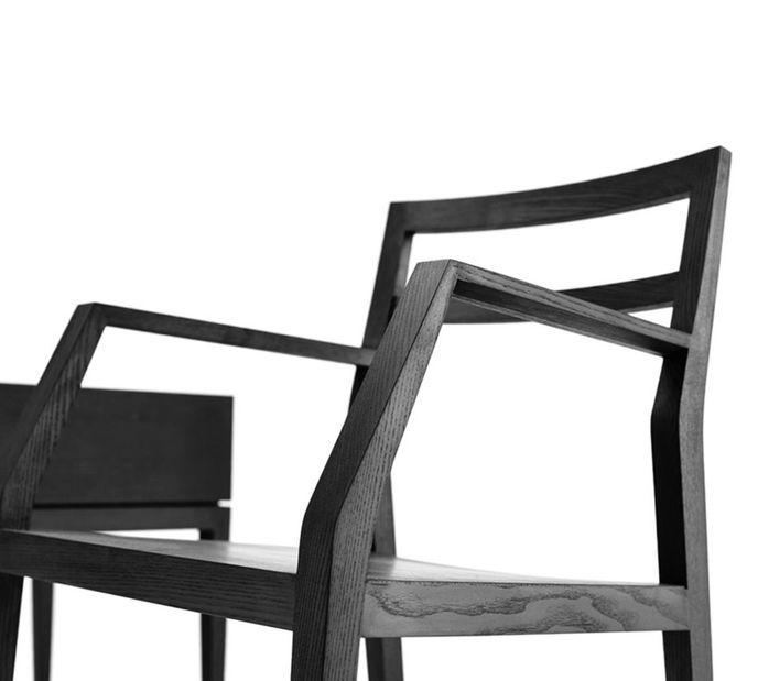 Mint Design Emma Designer-Holzstuhl aus Massivholz – Bild 3