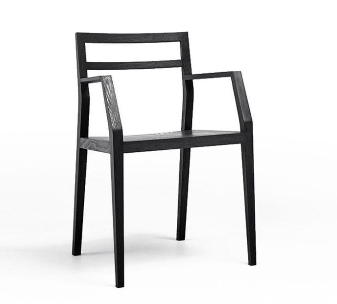 Mint Design Emma Designer-Holzstuhl aus Massivholz – Bild 1