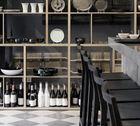 Mint Design Ghost  Barstuhl aus Massivholz viele Holzarten z.B. Esche schwarz