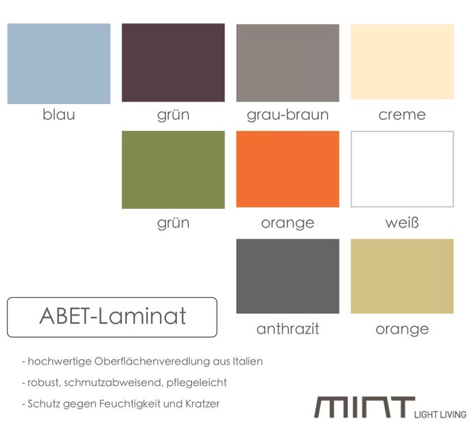 """Mint Design Tisch """"TABLE"""" aus Massivholz D130 cm rund – Bild 5"""