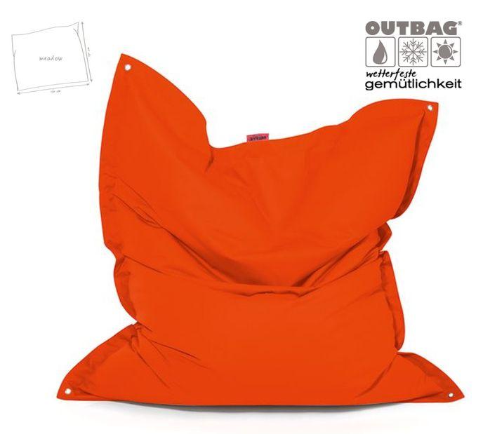Outbag Meadow Plus orange wetterfester Sitzsack