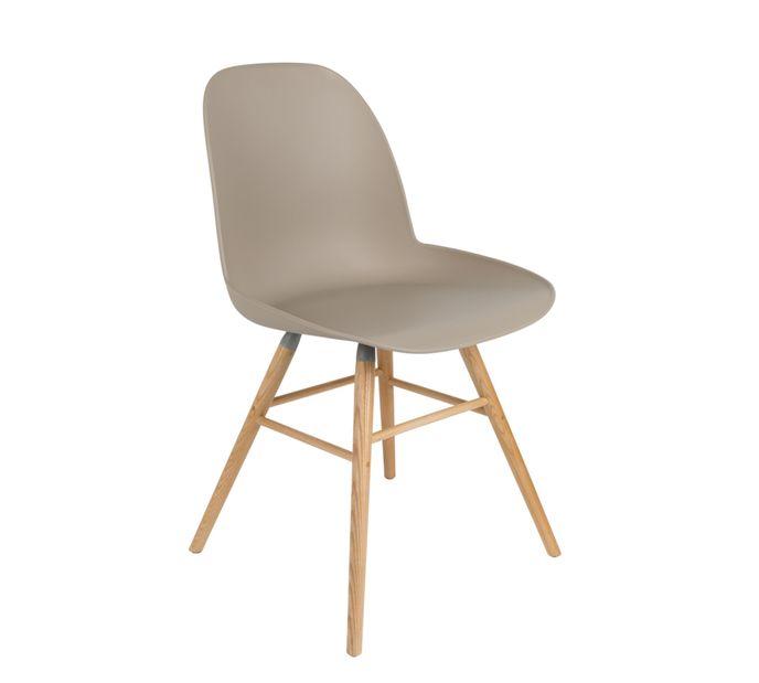 Zuiver Stuhl Albert in taupe