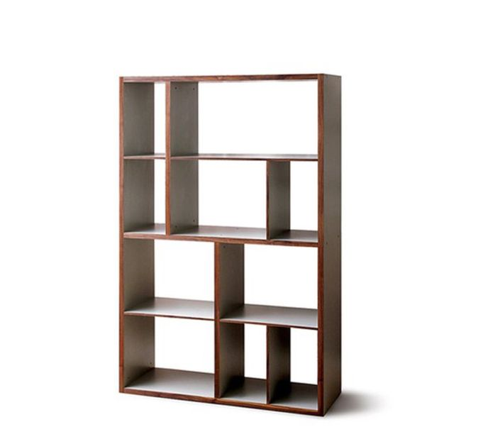 Mint Design Raumteiler Regal  Shelf M  Massivholz in B111 H179