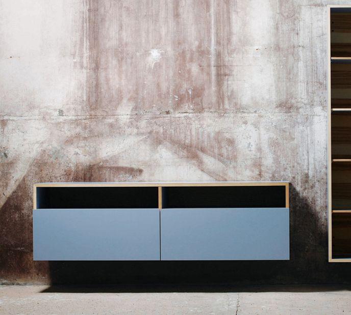 Mint Design M1200 Sideboard zur Wandmontage mit Echtholz und ABET-Laminat – Bild 10