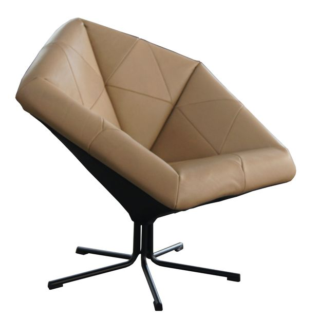Machalke Sessel ZAC Leder beige – Bild 1