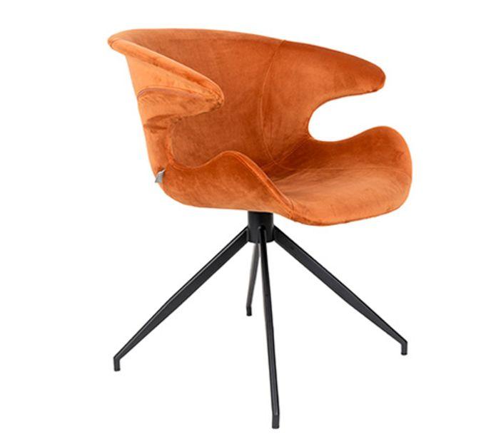 Zuiver Armlehnstuhl MIA in orange