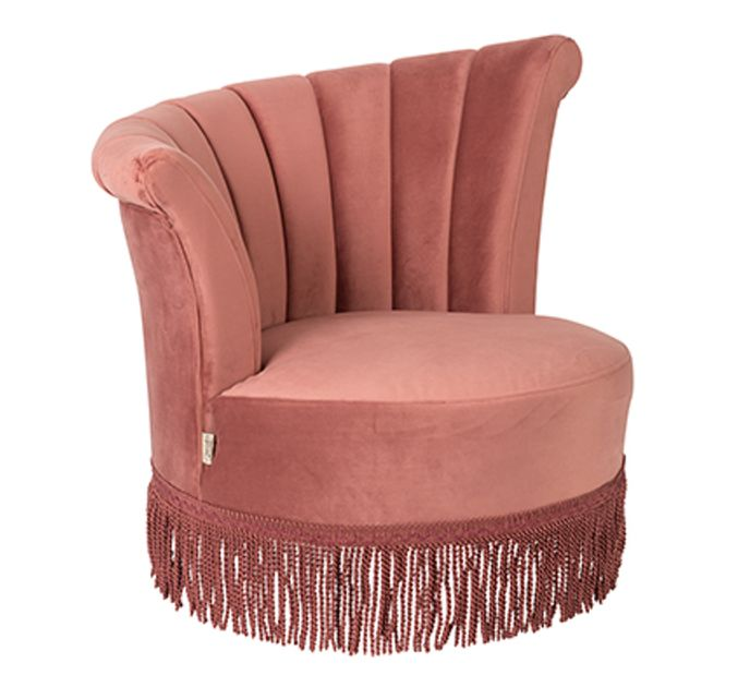 Dutch Bone Loungesessel FLAIR in pink