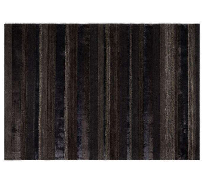 Dutch Bone Webteppich DOBS URBAN in braun/schwarz | 170x240 cm