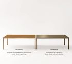 Gabler Möbel Tisch DESIGN-Alpha 200x90 mit Tischplatte Furnier Nussbaum – Bild 2