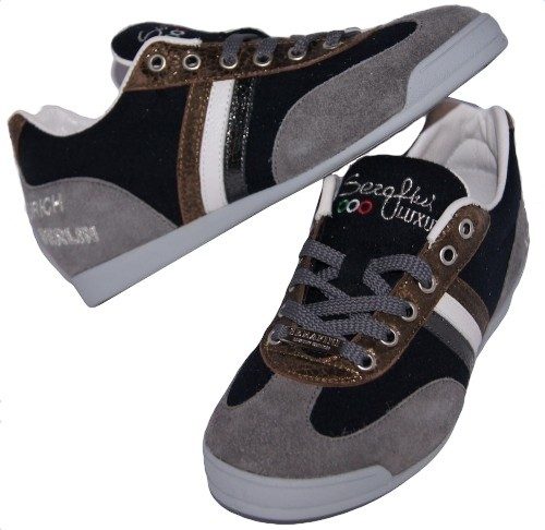 Serafini 750 Fashion City Felt Sneaker Handmade