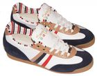 Serafini 1017 Newport Sneaker white/blue/brown – Bild 1