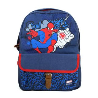 Samsonite Stylies Backpack M Marvel Spiderman Blau Rucksack Kinder 21L