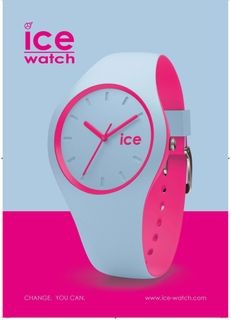 Ice-Watch DUO.OOE.U.S.16 ICE duo Ombre orange Unisex Uhr grau – Bild 2