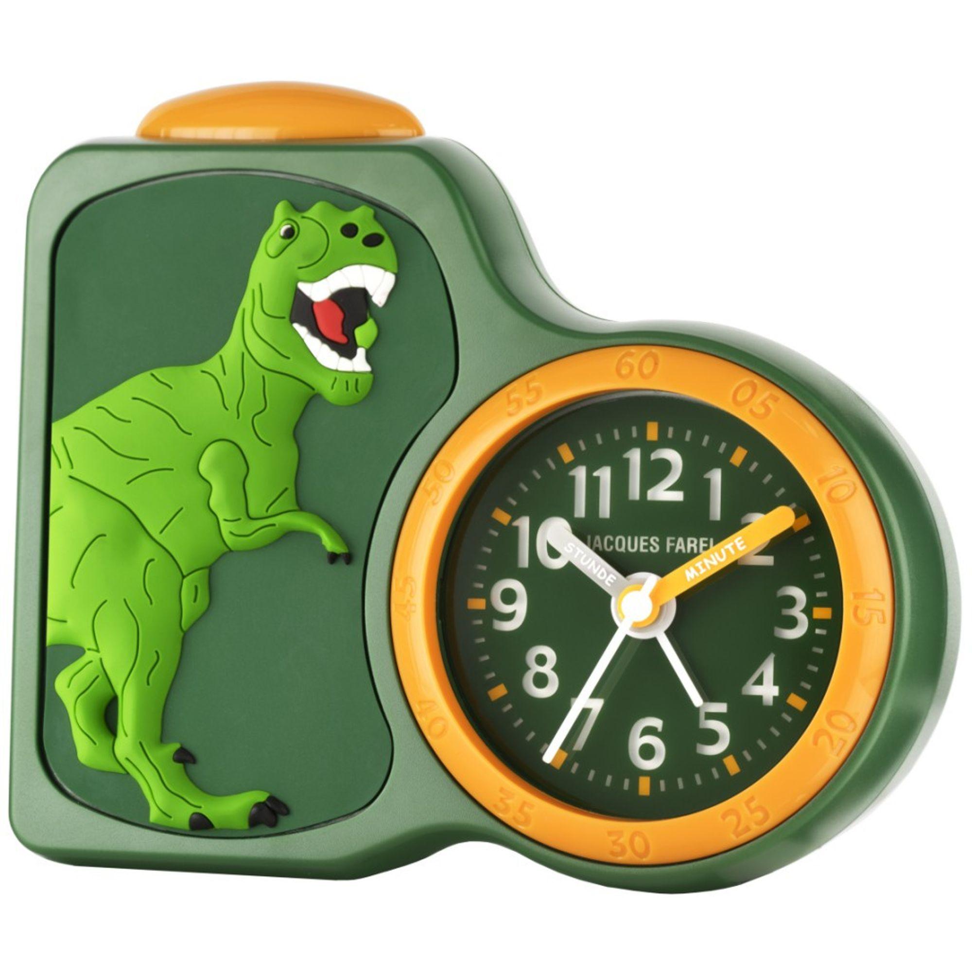 jacques farel acb06dino g dinosaurier wecker junge alarm. Black Bedroom Furniture Sets. Home Design Ideas