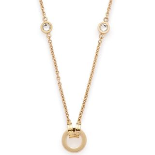 Leonardo 016122 Damen Charms Collier Darlin's Essenza Gold weiß 90 cm – Bild 1