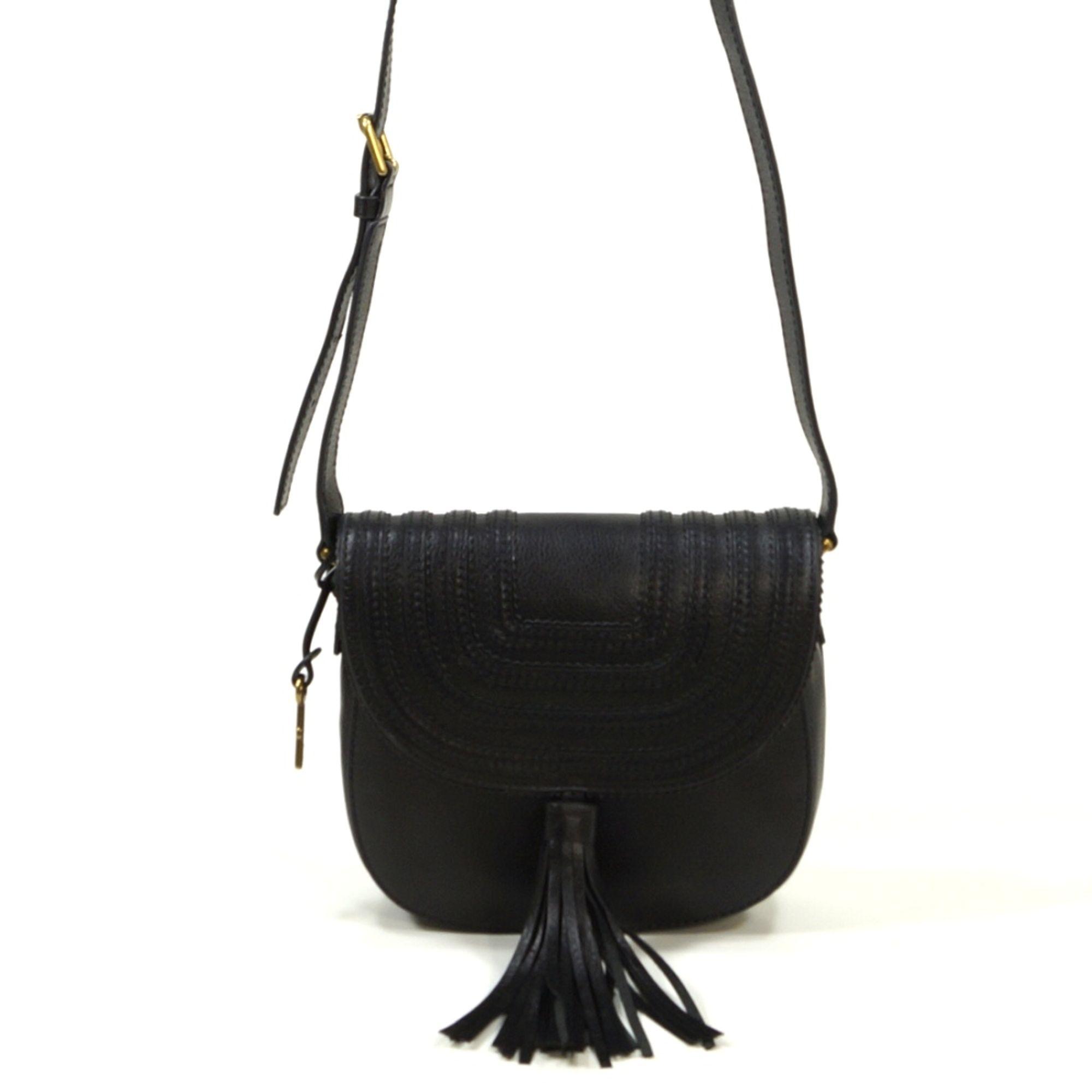 Emi Saddle Bag Schwarz ZB6849-001 Handtasche Tasche Leder