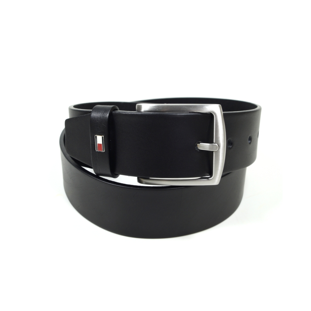 new photos various design release date Tommy Hilfiger Herrengürtel New Denton Belt Schwarz Leder Gürtel 95 cm |  starlabels outdoor lifestyle leder