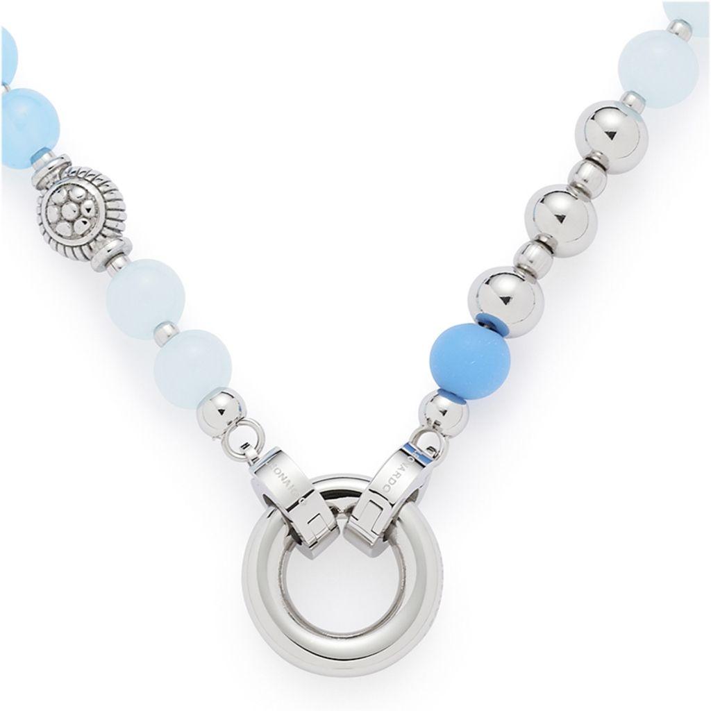 Leonardo 016219 Damen Kette Delizia Darlin's Silber Blau 45 cm