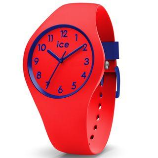Ice-Watch 014429 Ice ola Kids Circus small Uhr Kinderuhr Silikon Rot