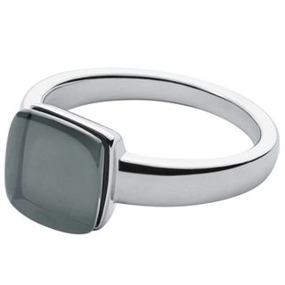 Skagen SKJ0871040505 Damen Ring SEA GLASS Silber Grau 53 (16.9) – Bild 1