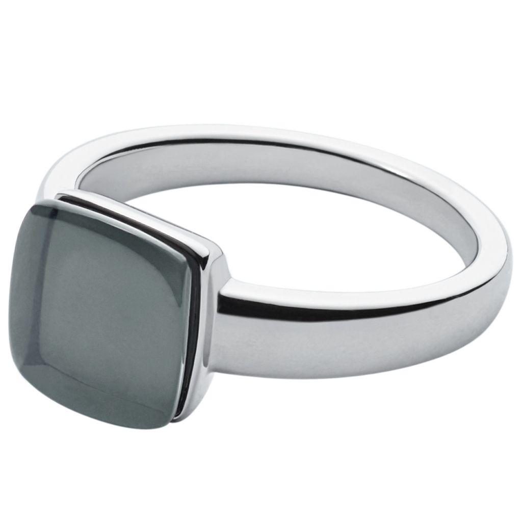 Skagen SKJ0871040508 Damen Ring SEA GLASS Silber Grau 56 (17.8)