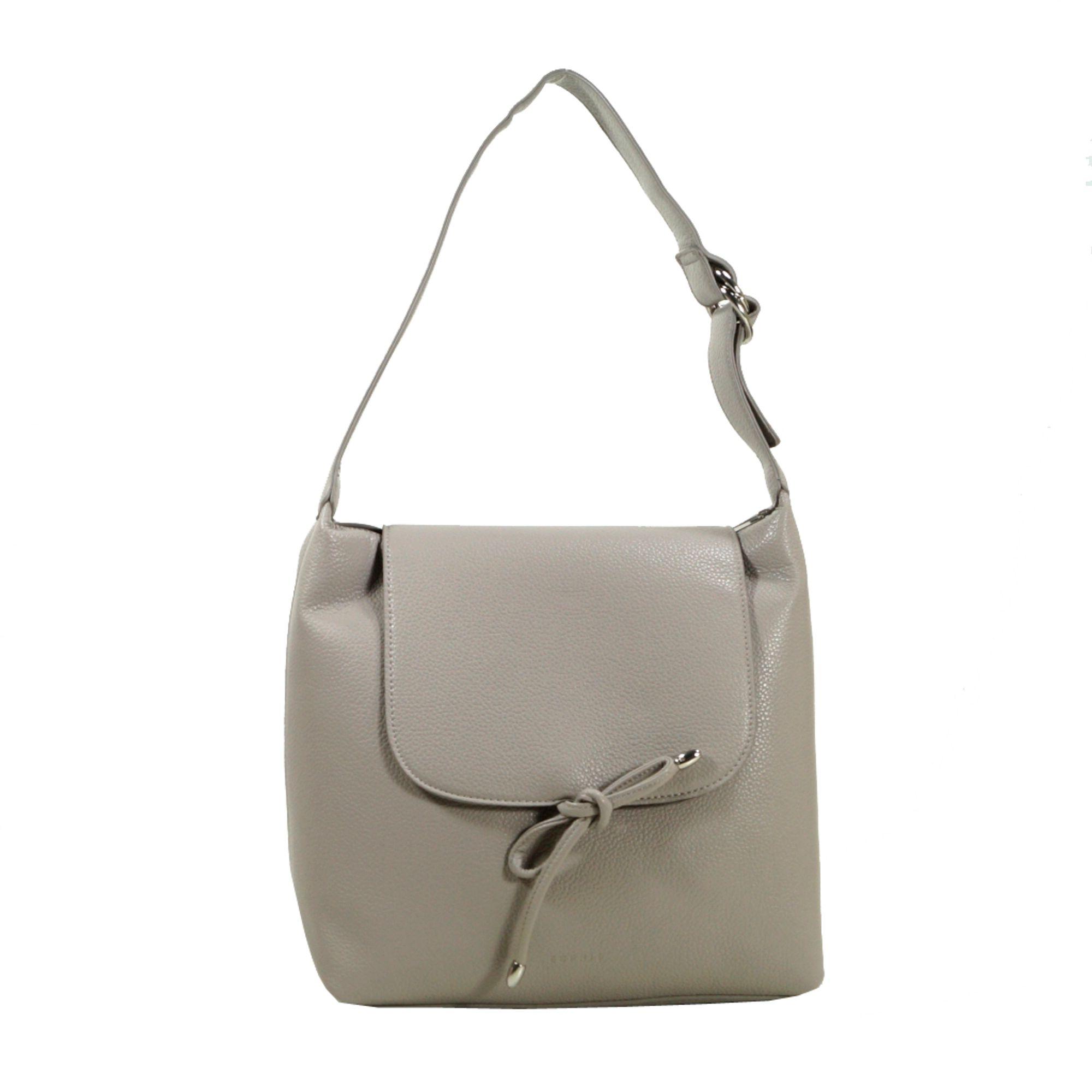 esprit tilda hobo grau handtasche tasche taschen henkeltasche. Black Bedroom Furniture Sets. Home Design Ideas