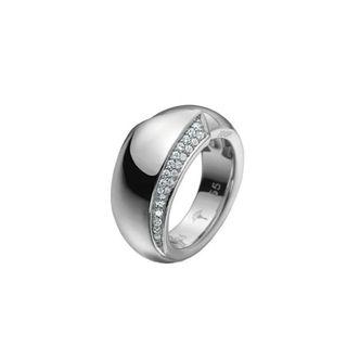 Joop JJ0941 Damen Ring Sterling-Silber 925 Silber Weiß 51 (16.2)