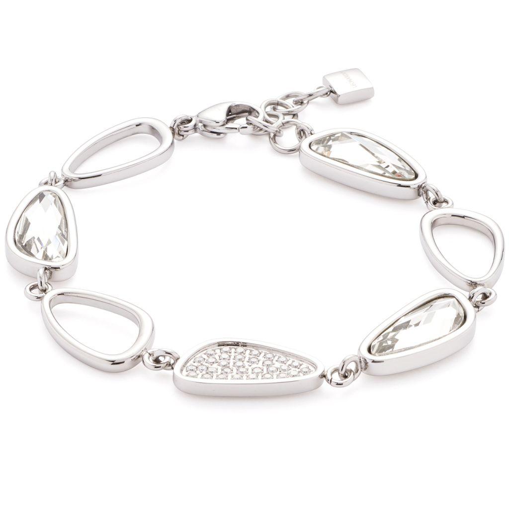 Leonardo 016334 Damen Armband Cinetico Edelstahl Silber Weiß