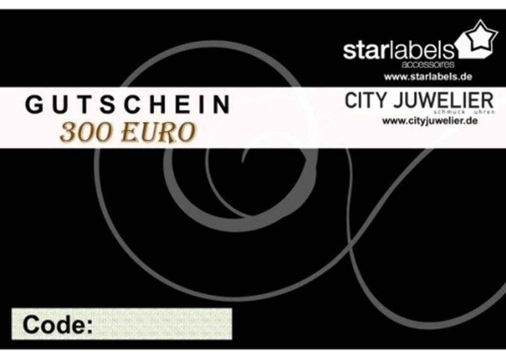Geschenk Gutschein 300 Euro