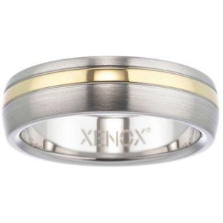 XENOX X1682-66 Herren Ring XENOX & friends Bicolor Gold 66 (21.0) – Bild 1