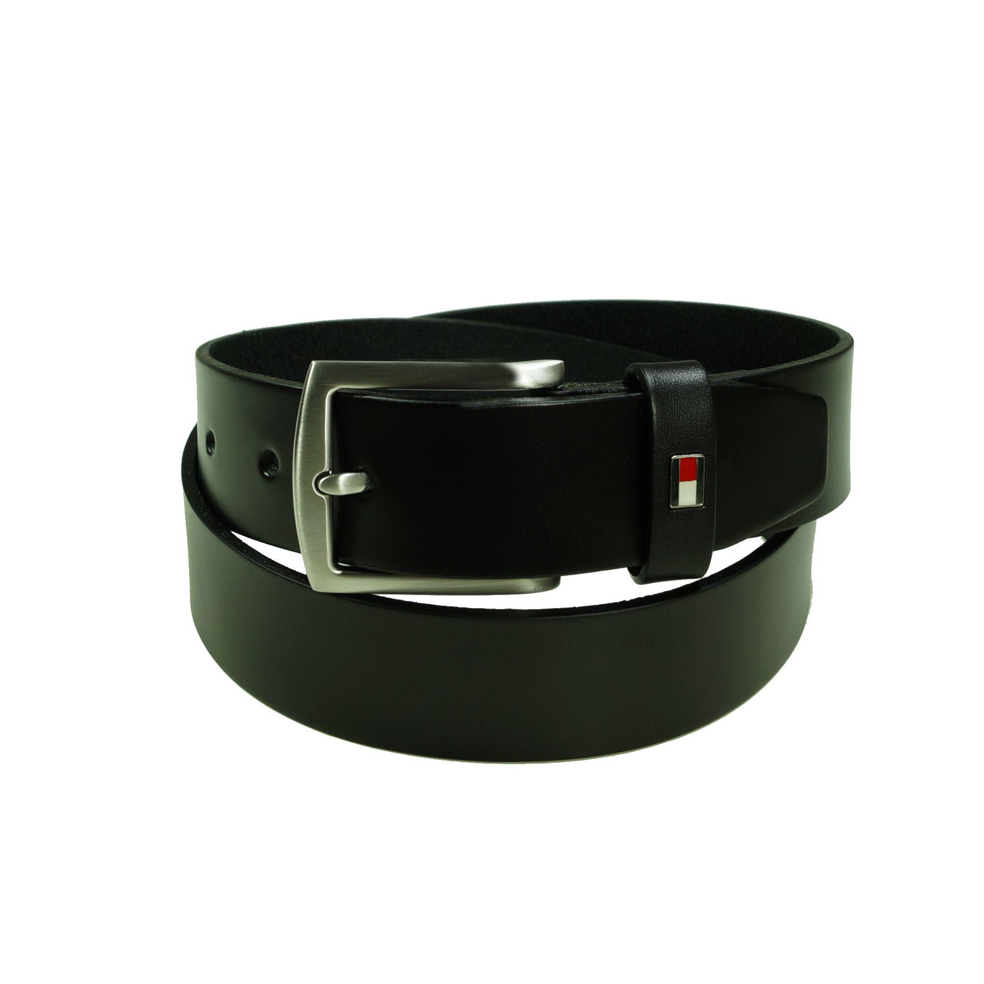 tommy hilfiger herren g rtel new denton belt giftbox 3 5 schwarz 85cm. Black Bedroom Furniture Sets. Home Design Ideas