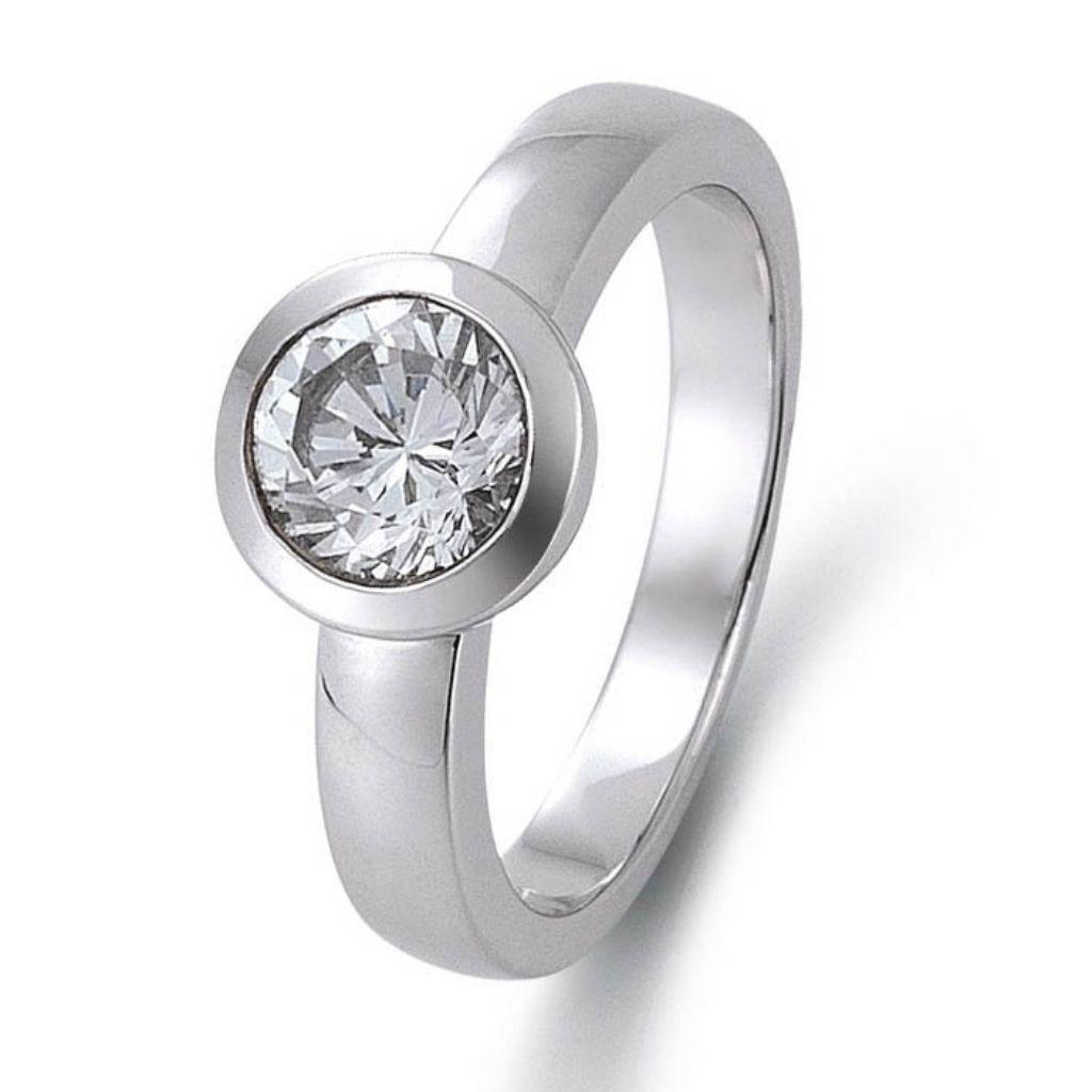 gooix 943-03148-58 Damen Ring Silber Weiß 58 (18.5) gooix 943-03148-58 Damen Ring Silber Weiß 58 (18.5)