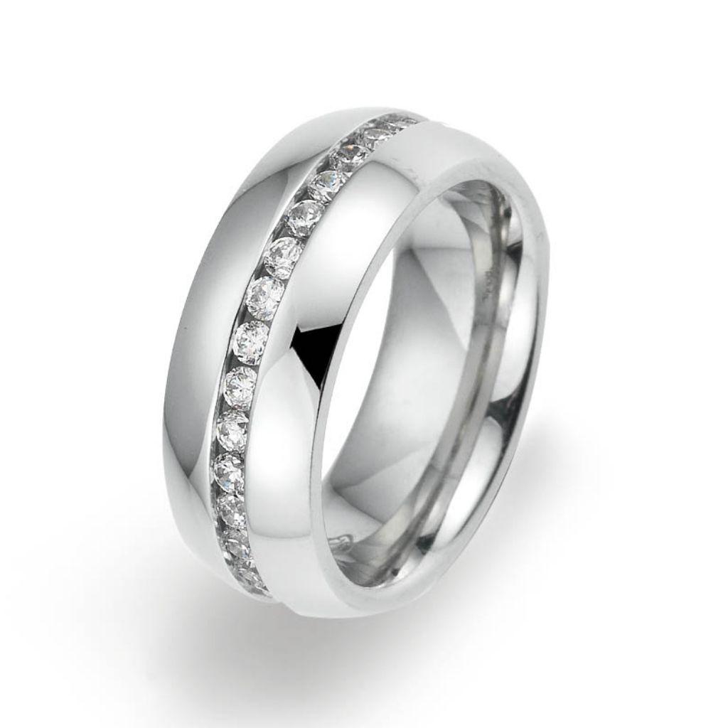 gooix 444-02134-54 Damen Ring Edelstahl Silber Weiß 54 (17.2) gooix 444-02134-54 Damen Ring Edelstahl Silber Weiß 54 (17.2)