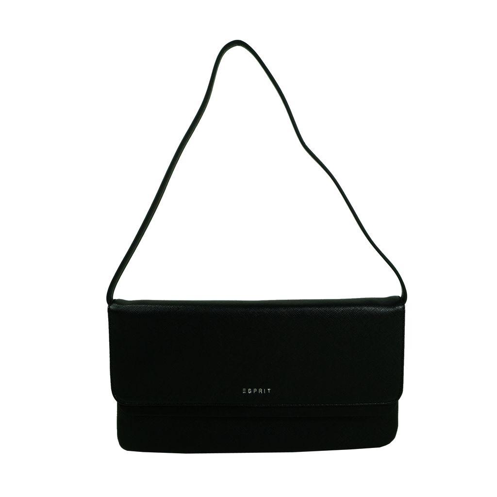 Esprit Akira Baguette Schwarz Clutch Hand Tasche 127EA1O051-E001 Esprit Akira Baguette Schwarz Clutch Hand Tasche 127EA1O051-E001