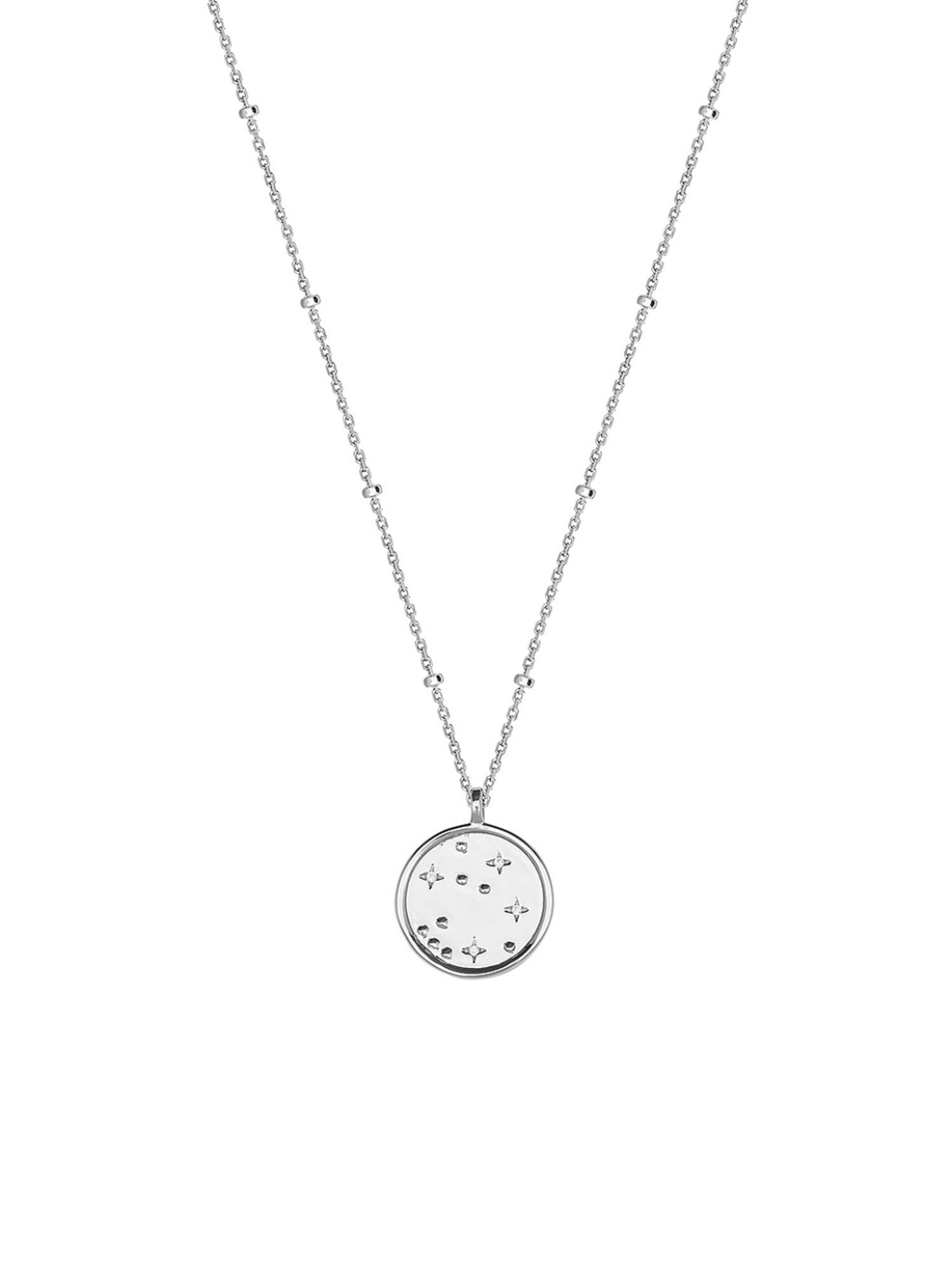 XENOX XS1526 Damen Collier Moonwalk Sterling-Silber 925 Silber 45 cm