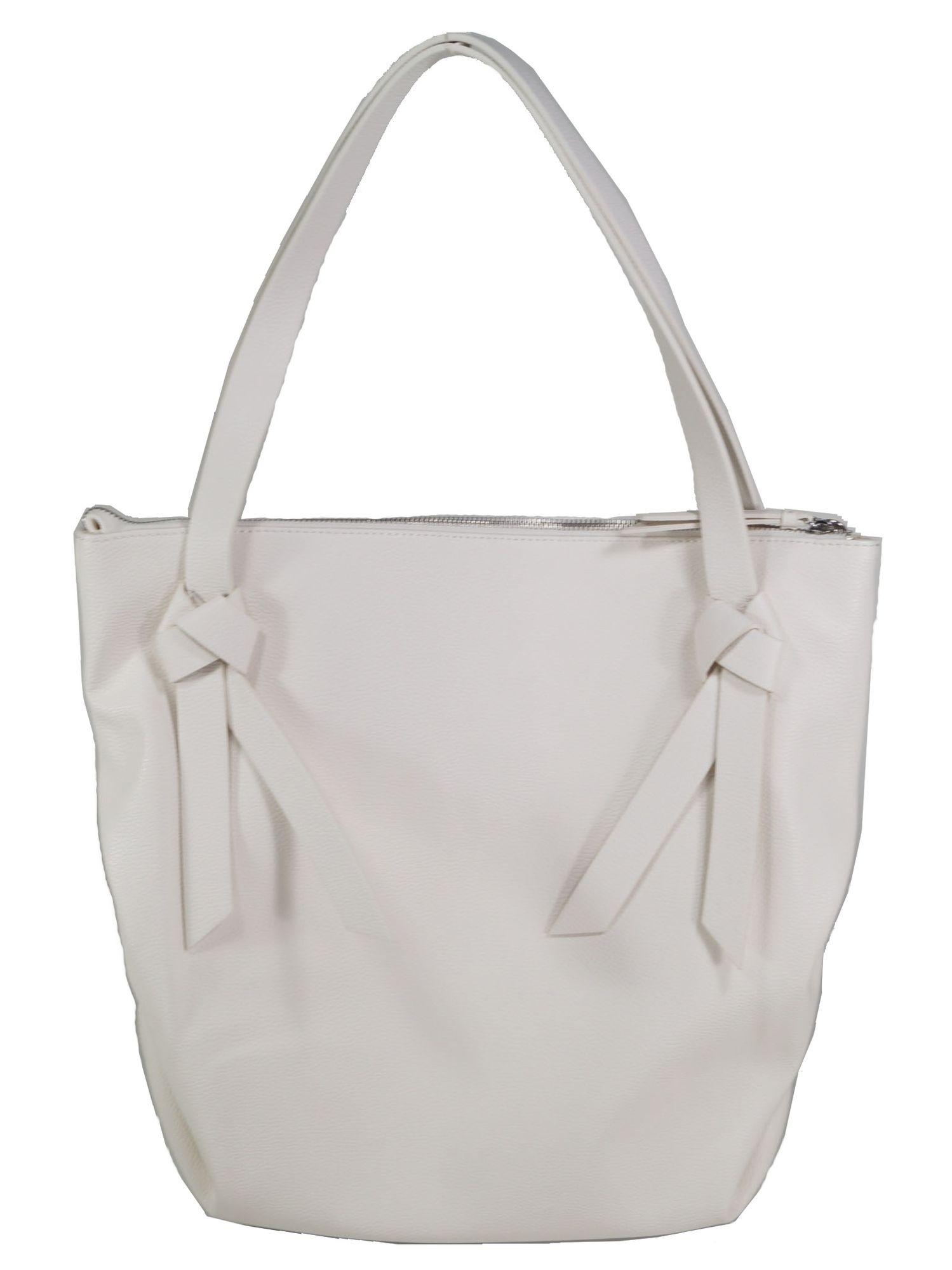 Laufschuhe großer Rabattverkauf neue Fotos Esprit Damen Handtasche Tasche Henkeltasche Charly Shopper Weiß |  starlabels outdoor lifestyle leder