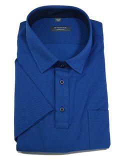 Eterna Herren Polo Shirt Kurzarm Comfort Fit Piqué Blau XXXXL/52 Eterna Herren Polo Shirt Kurzarm Comfort Fit Piqué Blau XXXXL/52