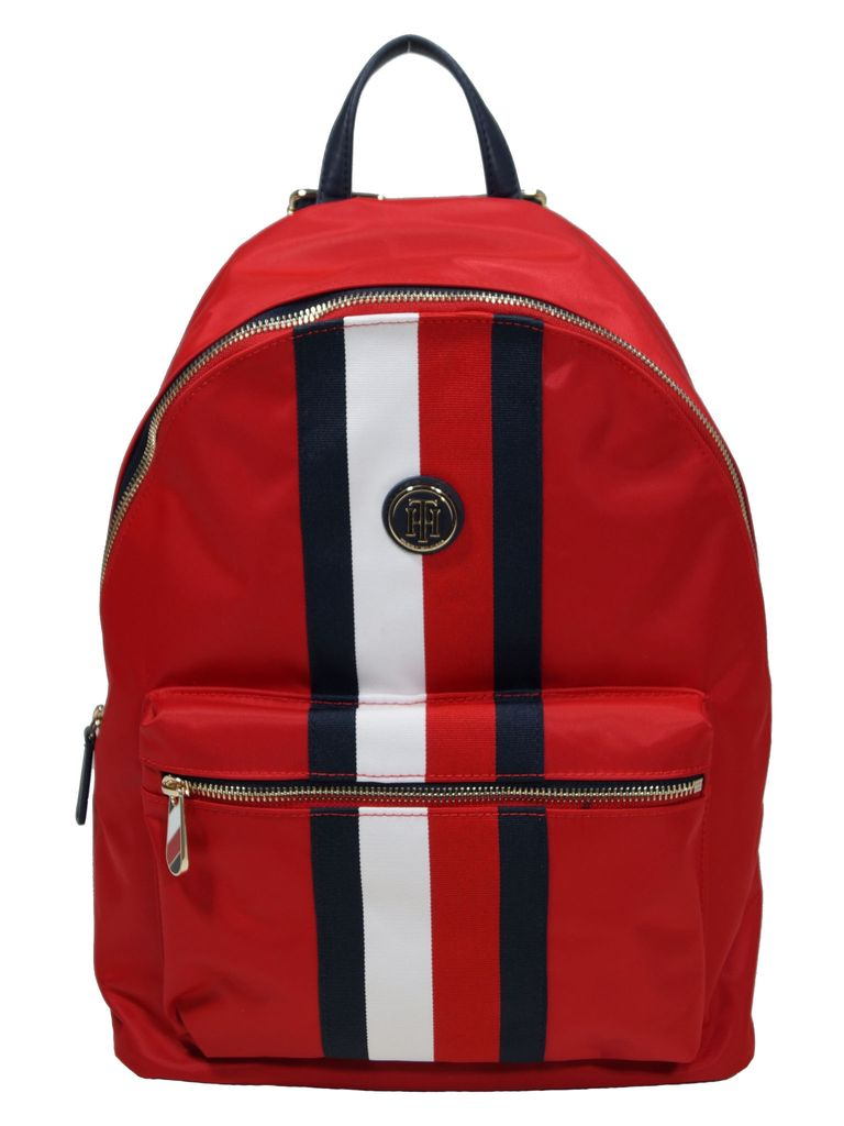 Tommy Hilfiger Rucksack Daypack Poppy Backpack Corp  20L Rot Tommy Hilfiger Rucksack Daypack Poppy Backpack Corp  20L Rot