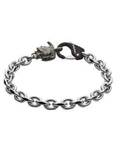 Diesel DX1146040 Herren Armband Edelstahl Silber 21 cm Diesel DX1146040 Herren Armband Edelstahl Silber 21 cm