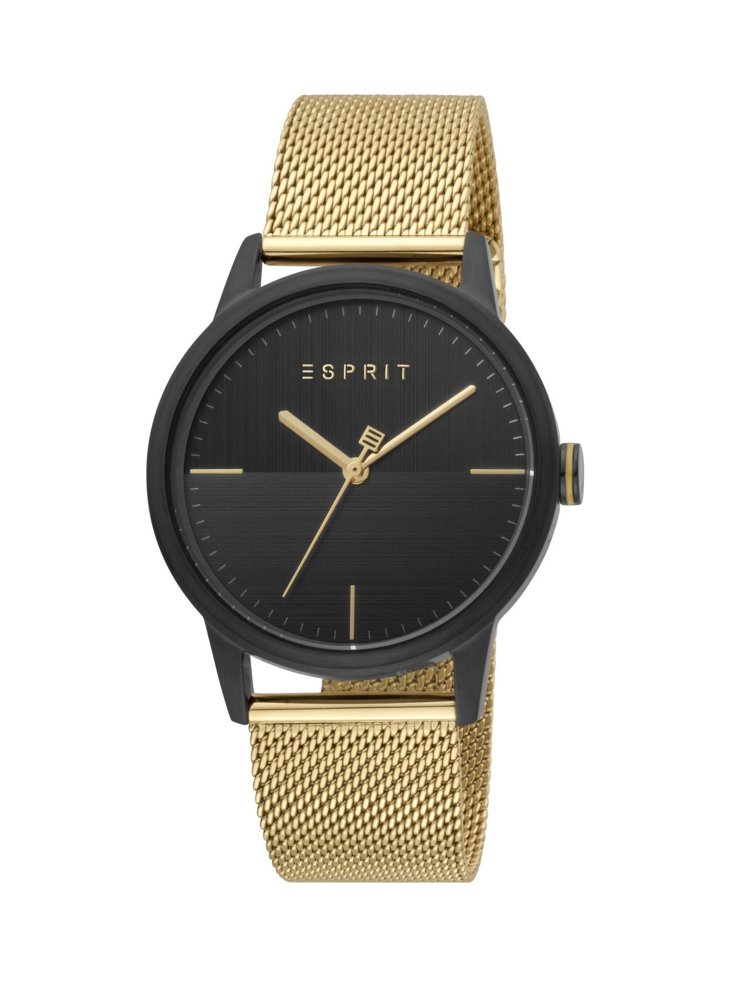 Esprit ES1G109M0105 Classy Uhr Herrenuhr Edelstahl Gold