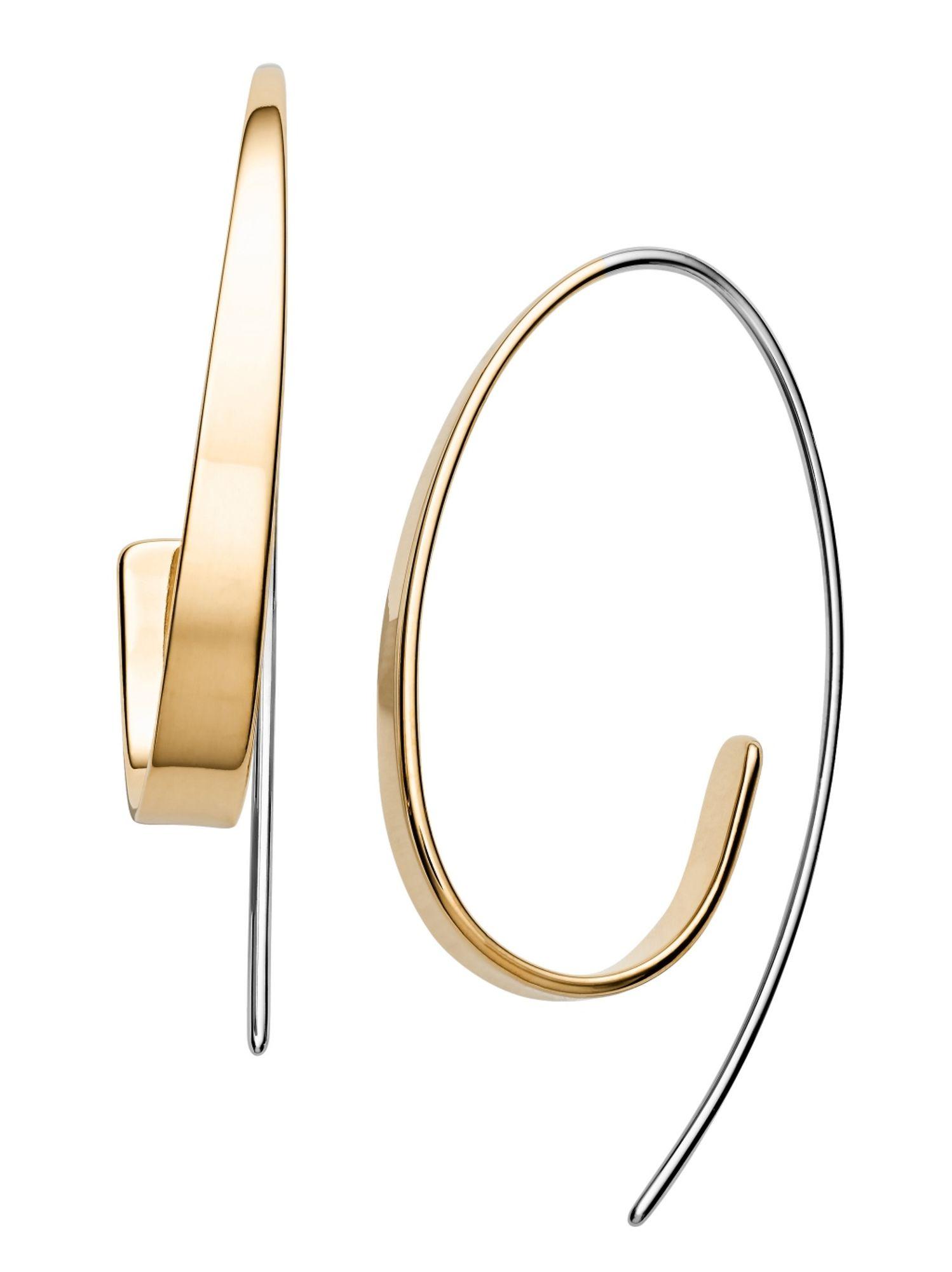 moderner Stil zu verkaufen kommt an Skagen SKJ1217998 Damen Ohrringe KARIANA Edelstahl Bicolor Gold   City  Juwelier Markenuhren und Markenschmuck