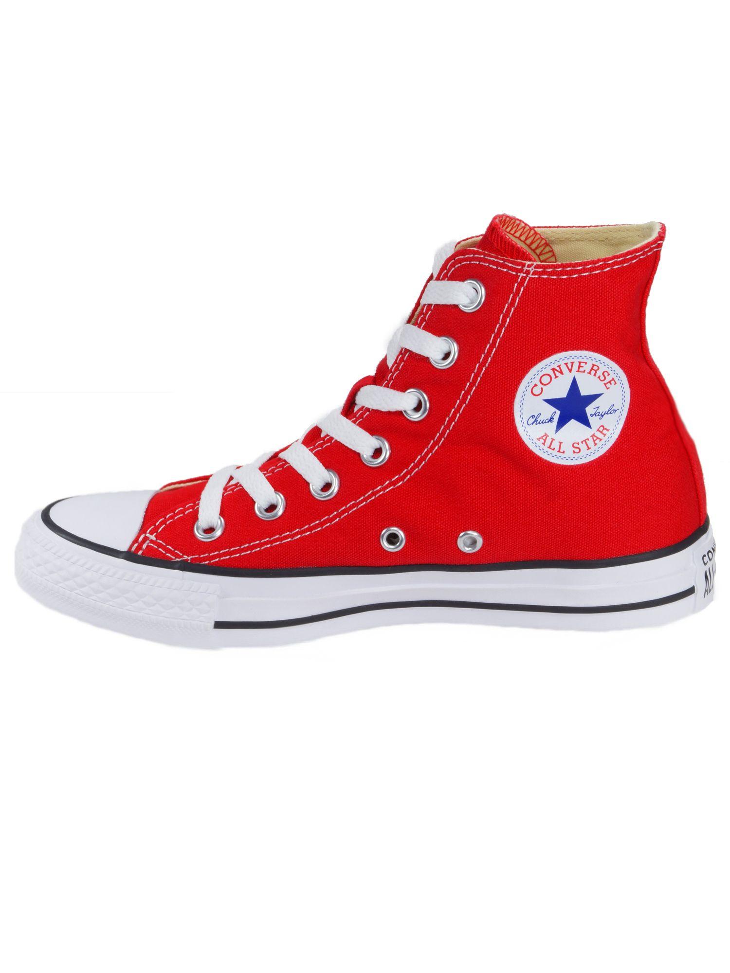 Converse Damen Schuhe CT All Star Hi Rot Leinen Sneakers Gr. 36 |  starlabels outdoor lifestyle leder