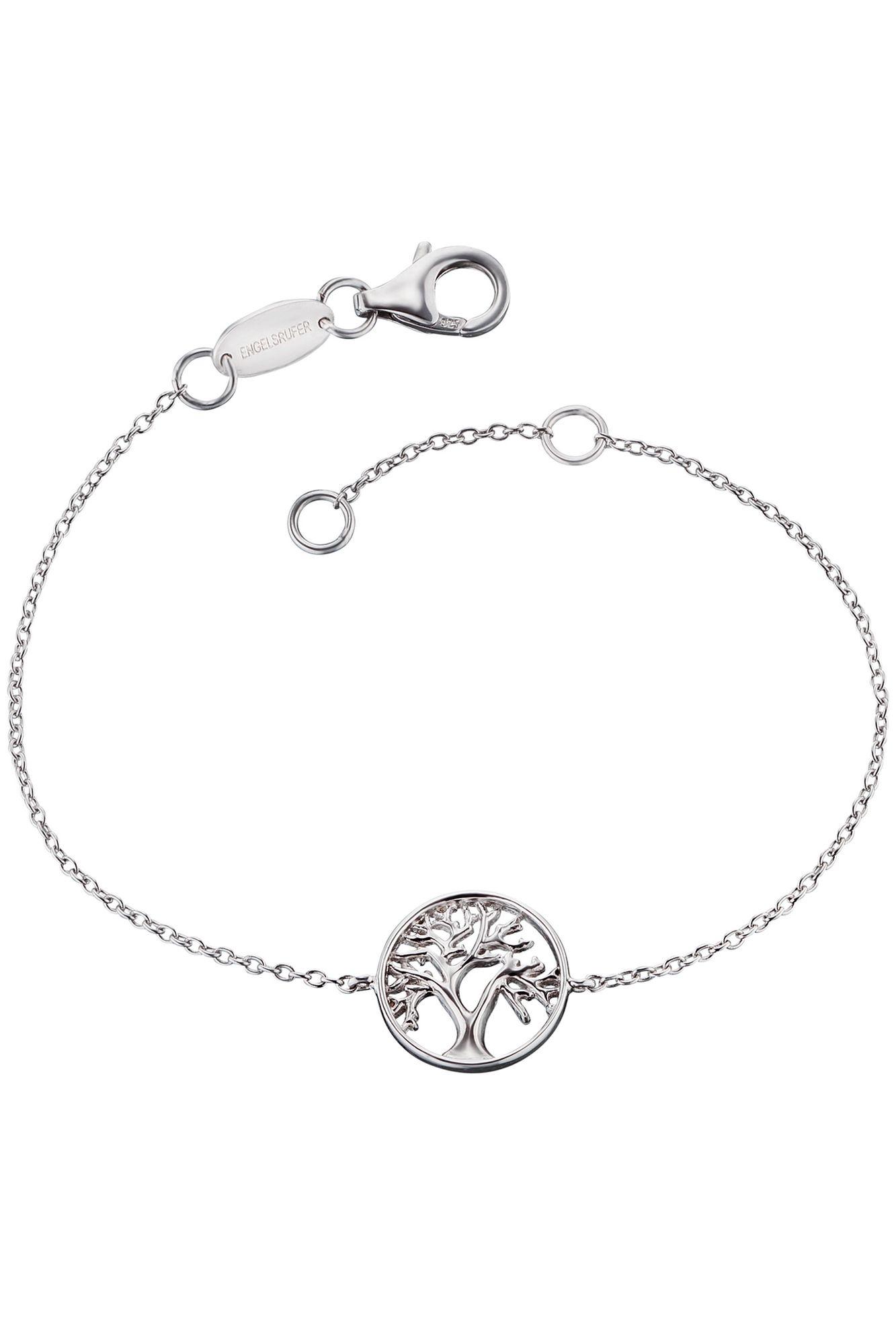 Engelsrufer ERB-LILTREE Damen Armband Lebensbaum Silber 19 cm